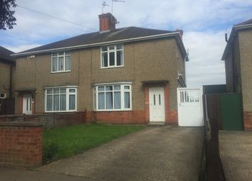 Thumbnail 3 bed semi-detached house to rent in Eastfield Road, Wellingborough, Northamptonshire