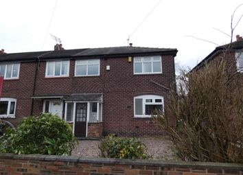 Thumbnail 3 bedroom end terrace house for sale in Woodlake Avenue, Chorlton, Manchester, Greater Manchester