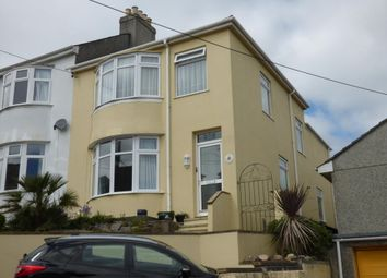 Thumbnail 3 bed end terrace house for sale in Glebe Avenue, Saltash