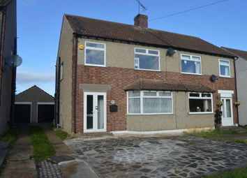 Thumbnail 4 bed semi-detached house to rent in Squirrels Heath Road, Harold Wood, Romford