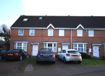 Thumbnail 3 bed terraced house for sale in Cowbeck Close, Wootton, Northampton