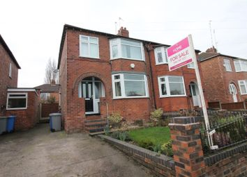 Thumbnail 3 bed property for sale in Millford Avenue, Flixton, Urmston, Manchester