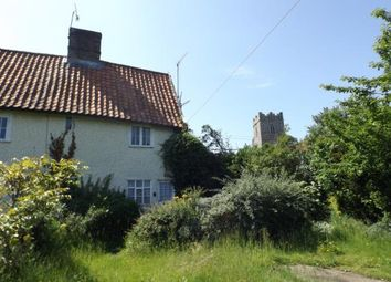 Thumbnail 2 bed end terrace house for sale in Main Road, Stratford St. Andrew, Saxmundham