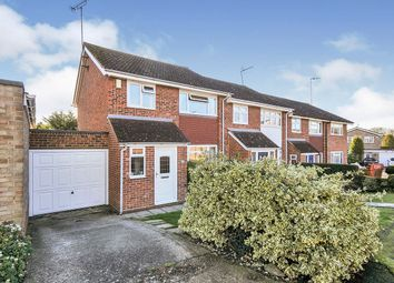 Thumbnail 3 bed end terrace house for sale in Cranleigh Drive, Swanley, Kent
