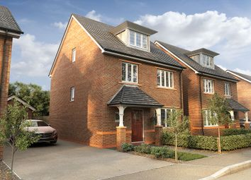 "Thumbnail 4 bedroom detached house for sale in ""The Morris"" at Wood Lane, Binfield, Bracknell"