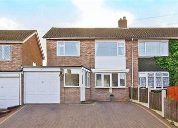 Thumbnail 3 bed semi-detached house to rent in Lulworth Road, Burntwood