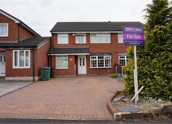 Thumbnail 4 bed semi-detached house for sale in Bealcroft Close, Rochdale