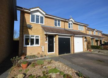 Thumbnail 3 bed semi-detached house for sale in Anxey Way, Haddenham, Aylesbury