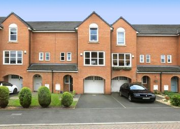 Thumbnail 4 bed town house for sale in Lambert Crescent, Nantwich