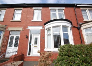 Thumbnail 3 bed terraced house for sale in Keswick Road, Blackpool