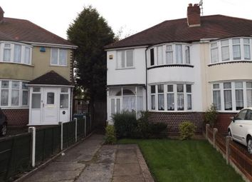 Thumbnail 3 bed semi-detached house for sale in Swan Crescent, Oldbury, Birmingham, West Midlands