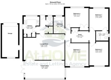 Thumbnail 4 bedroom bungalow for sale in Chestnut Way, Henfield