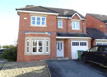 Thumbnail 4 bed detached house for sale in The Brambles, New Hartley, Whitley Bay