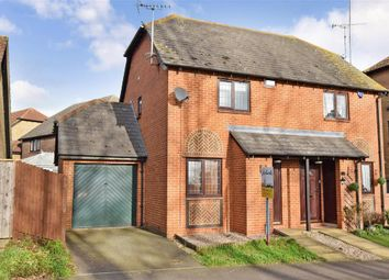 Thumbnail 2 bed semi-detached house for sale in Maximilian Drive, Halling, Rochester, Kent