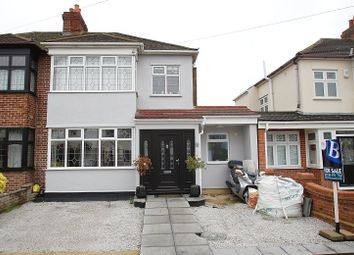 Thumbnail 4 bed semi-detached house for sale in Albany Road, Hornchurch