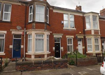 Thumbnail 3 bed maisonette to rent in Simonside Terrace, Heaton, Newcastle Upon Tyne