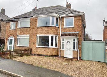 Thumbnail 4 bed semi-detached house for sale in Moorgate Avenue, Birstall, Leicester, Leicestershire