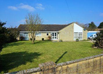 Thumbnail 4 bed detached bungalow for sale in School Lane, Swindon