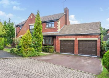 Thumbnail 4 bed detached house for sale in Dormston Close, Solihull