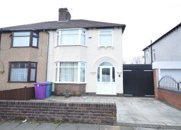 Thumbnail 3 bed semi-detached house for sale in Stairhaven Road, Allerton, Liverpool