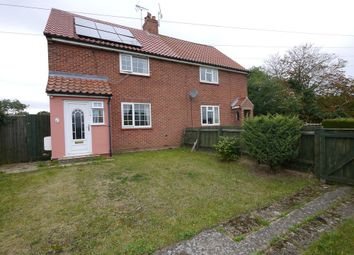 Thumbnail 3 bed semi-detached house for sale in The Street, Hacheston, Hacheston