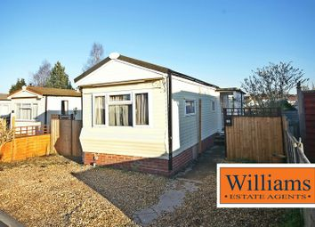 Thumbnail 1 bed property for sale in Fayre Oaks Home Park, Kings Acre Road, Hereford
