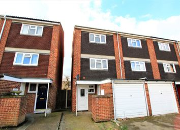 Thumbnail 3 bed town house to rent in Launceston Close, Romford