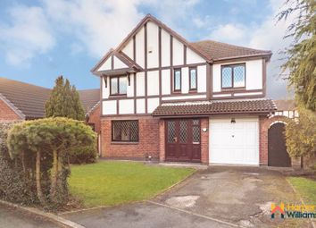 Thumbnail 5 bed detached house for sale in Sandicroft Close, Birchwood, Warrington