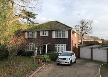Thumbnail 5 bed detached house for sale in Egham, Surrey
