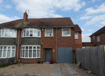 Thumbnail 4 bed semi-detached house for sale in Stonehill Avenue, Birstall, Leicester, Leicestershire