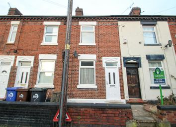 Thumbnail 2 bedroom terraced house for sale in Edensor Terrace, Longton, Stoke-On-Trent