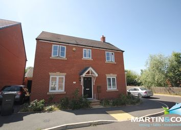 Thumbnail 4 bed detached house to rent in Brindley Avenue, Edgbaston