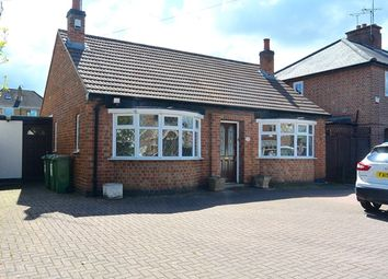Thumbnail 2 bed bungalow for sale in Station Road, Glenfield, Leicester