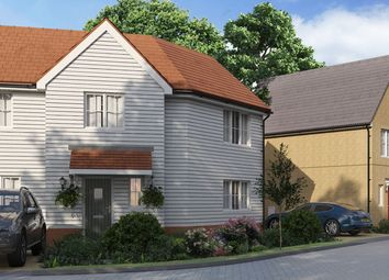 "Thumbnail 3 bedroom property for sale in ""The Kensington"" at Yarrow Walk, Red Lodge, Bury St. Edmunds"