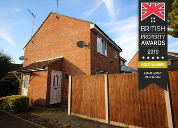 Thumbnail 1 bedroom semi-detached house for sale in Eckersley Drive, Fakenham