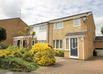 Thumbnail 3 bed semi-detached house for sale in Ashby Drive, Rushden