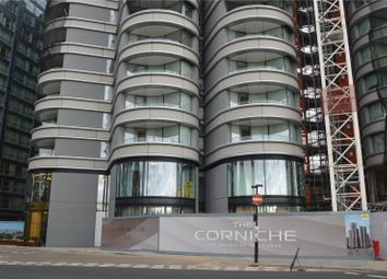 Thumbnail 1 bed flat for sale in Tower 1, The Corniche, Albert Embankment, London