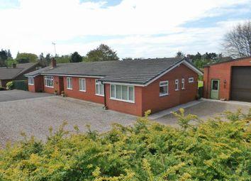 Thumbnail 5 bedroom bungalow for sale in Kestrel Drive, Loggerheads, Market Drayton, Staffordshire