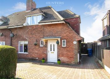 Thumbnail 3 bed semi-detached house for sale in Hawthorn Avenue, Gainsborough
