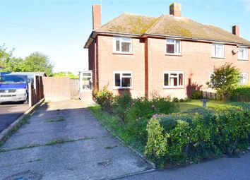 Thumbnail 3 bed semi-detached house for sale in Station Road, Teynham, Sittingbourne, Kent