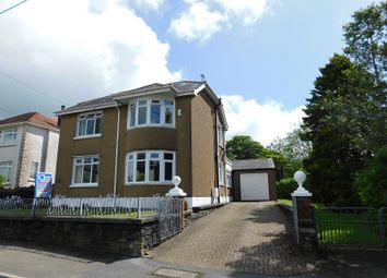Thumbnail 3 bedroom detached house for sale in Plas Road, Pontardawe, Swansea.