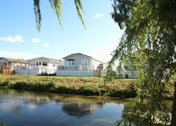 Thumbnail 2 bedroom mobile/park home for sale in Waters View, Yarwell Mill, Peterborough
