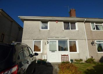 Thumbnail 2 bedroom semi-detached house for sale in Plymouth, Devon, England