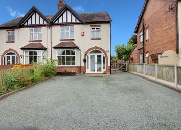 Thumbnail 4 bed semi-detached house for sale in Wyche Lane, Bunbury, Tarporley