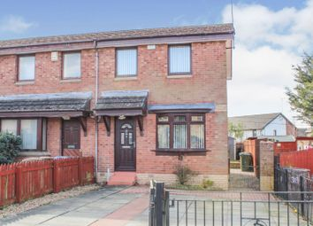 Thumbnail 2 bed end terrace house for sale in Glencoats Drive, Paisley