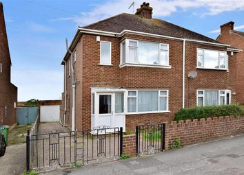 Thumbnail 3 bed semi-detached house for sale in Harps Avenue, Minster On Sea, Sheerness, Kent