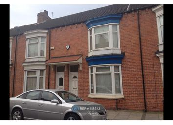 Thumbnail 3 bedroom terraced house to rent in Gresham Road, Middlesbrough