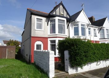 3 bed end terrace house for sale in Queens Avenue, Porthcawl CF36