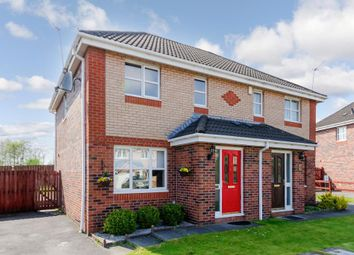 Thumbnail 3 bed semi-detached house for sale in Leglenwood Drive, Glasgow