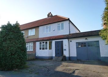 Thumbnail 3 bedroom end terrace house for sale in Church Rise, Chessington